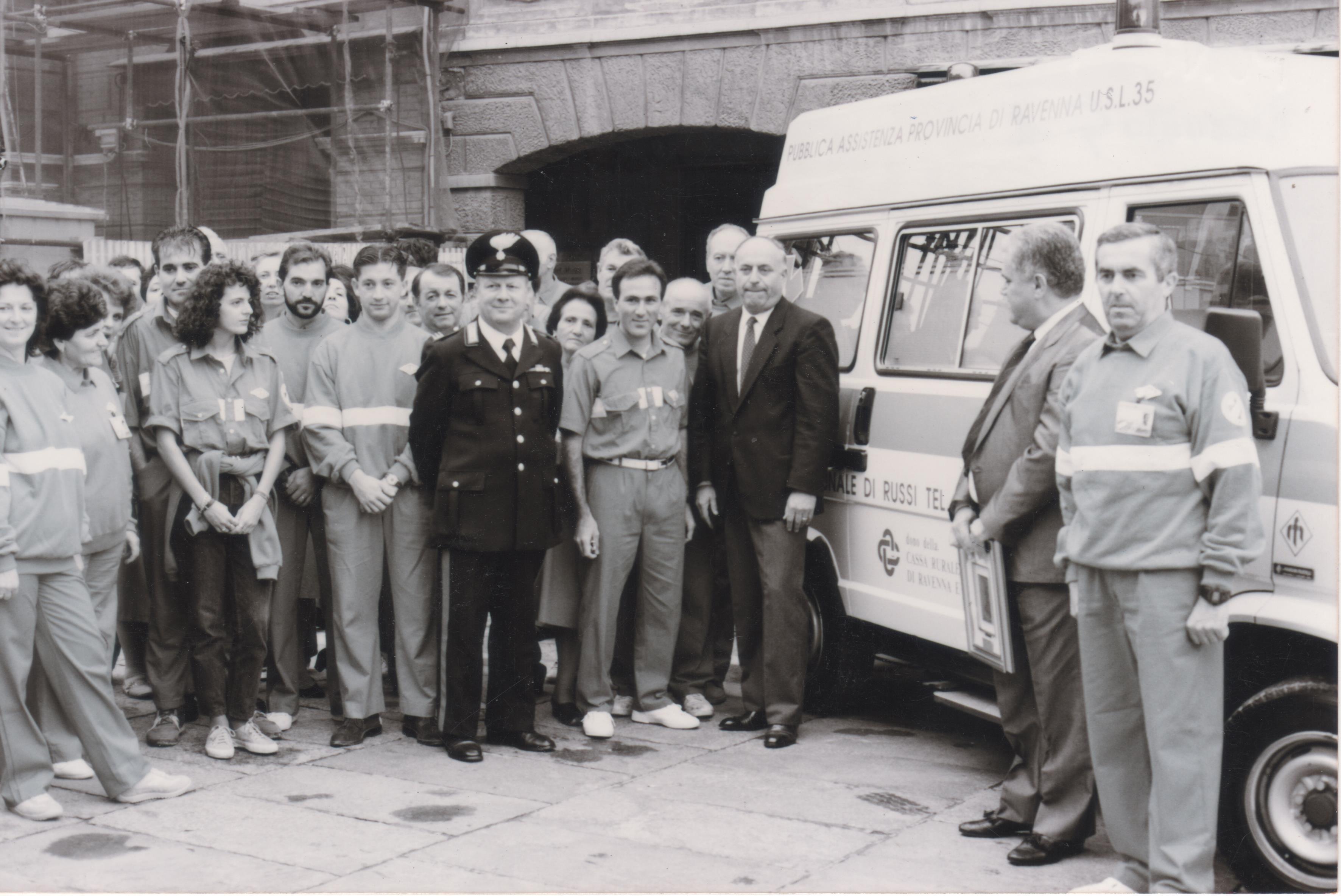 La prima ambulanza