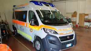 Ambulanza lato sn
